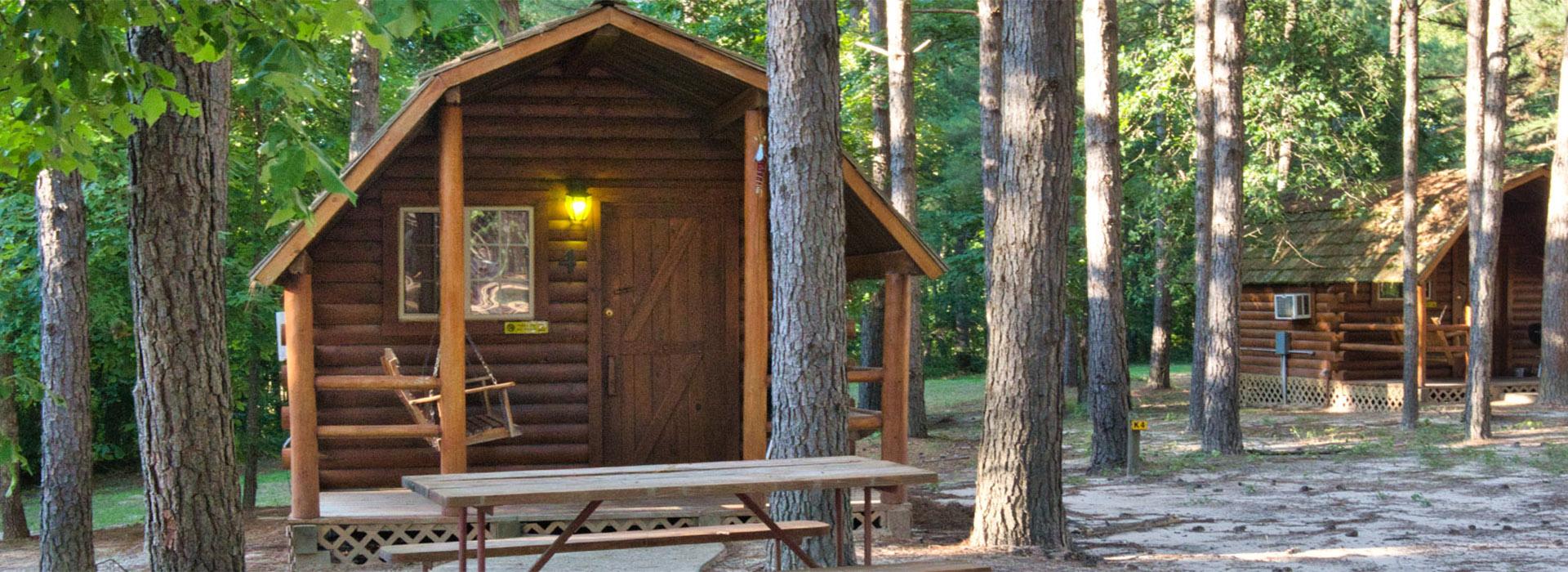 Cabin & TeePee Camping